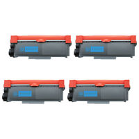 4 Pack TN660 Toner High Yield Black for Brother HL-L2360DW HL-L2380DW MFC-L2680W