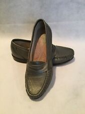 SAS Pewter Comfort Shoes - Womens Dress Shoe - 'Penny J-P - Size 6.5 M