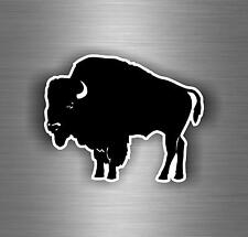 Sticker aufkleber auto motorrad helm tuning büffel buffalo indian r3