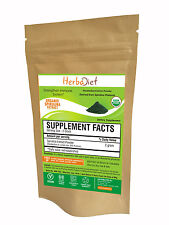 Organic SPIRULINA Powder Food Grade Natural Superfood Nutrient Rich Diet Detox