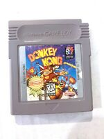 DONKEY KONG Original Nintendo Gameboy Game TESTED WORKING Authentic!