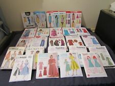 ASSORTED LADIES SEWING PATTERNS ( CHOOSE ).