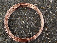 Cuivre plaqué fil diamètre 2mm 12 gauge 20 mètres - 500 gram