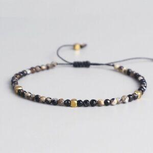 Tibetisches Armband Buddhistischer Schmuck Stein Kupfer Perlen Yoga Chakra