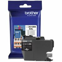 Brother International LC3019BK Blk Super Hy Xxl Ink Cart Yld 3k Pg