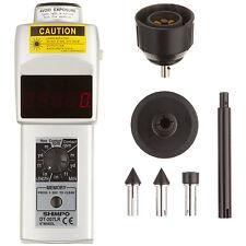 Shimpo DT-207LR Handheld Tachometer with 6 Wheel, LED Display, 6 - 99999rpm