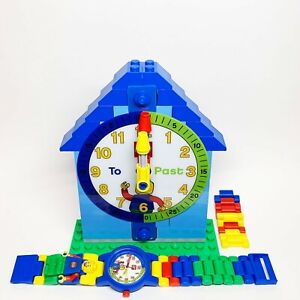 LEGO Time Teacher 9005008 Watch Demonstration Clock Kids Learn