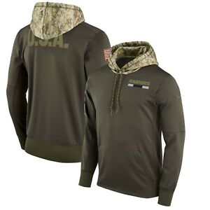 Nike Oakland Raiders Salute Military Camo Hoodie Sweater SOLD OUT Sz Small