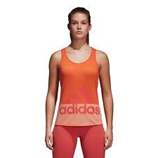 Arancio Medium adidas Cv7812 Canottiera sportiva Donna M 4059322131516 (fxt)