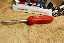 Snap-On RACING EDITION Magnetic Ratcheting Screwdriver SSDMR4ARAC  USA