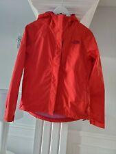 The North Face Women's Hyvent Rain Jacket Coat Raincoat Sz Small Pit Vent