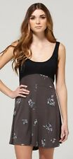 DC Shoes CHARLIE  Womens Mini Summer Dress Mini Wicked Floral Black  NEW