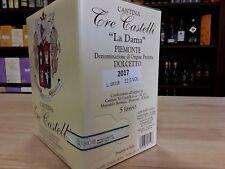 Dolcetto Dop Piemonte BAG IN BOX da 5 lt. 2019 Tre Castelli
