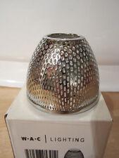 WAC Lighting G115-PT Mesh Bulb Shield, Platinum Finish