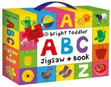 Bright Toddler: ABC Jigsaw and Book Set (Board Book)