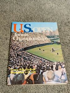 1970 US Open Championship Tennis Program Ken Rosewall Margaret Court