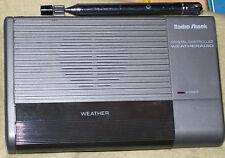 Vintage 9V Radio Shack WEATHER RADIO Model 12-241 crystal controlled works great