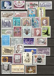 Österreich 1979 Kompletter Jahrgang Postfrisch ** MNH