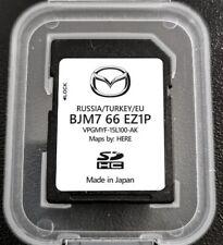 Nuova 2021 Mazda Navigazione scheda SD tutte ITALIA EUROPA-TURKEY-RUSSIA
