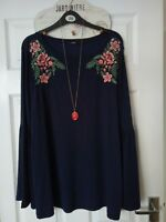 GEORGE embroidered top size 20