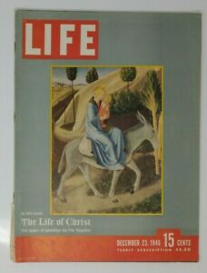 LIFE MAGAZINE: 23 SEPT 1946, LIFE OF CHRIST