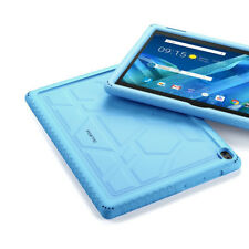Lenovo Moto Tab Tablet Case [Shockproof] w/Drop Protection Silicone Cover Blue