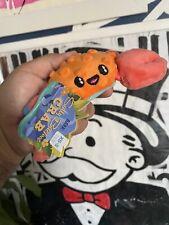 Bark Box Sally Bitefoot Crab XS-S Dog Toy Galapagos Squeaker Crinkle Barkbox