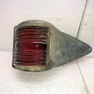 Vintage Kilborn Sauer Red Boat Side Marker Light