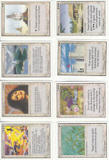 Lot x8 cartes MAGIC MTG UNLIMITED Island Sanctuary English 1993 EX-NM OLD SCHOOL