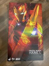 Hot Toys Iron Man Mark 50 MMS 473 1/6 Die Cast Preowned