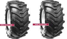 2 New Tires 18 8.50 10 OTR Lawn Trac Lug TR378 R1 18x8.50-10 18x8.50x10 4ply Sil