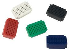 SET OF 5 MINI BREADBOARDS - 55 POINTS, PCB PROTOTYPING BOARDS FOR VELLEMAN SA