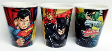 DC Comics Justice League Super Heros DRINK CUPS Birthday Party Supplies