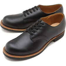 New RED WING 8054 Foreman Oxford Black Leather Shoes Factory Seconds Size 8.5 D