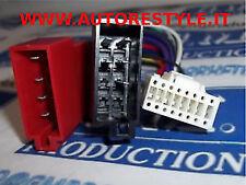 Cavo ISO adattatore autoradio cable Alpine harness 16 PIN con PIN tondi 10×22 mm