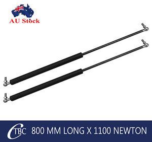 1 pair Gas Strut 800mm x1100N Metal Spring Caravan Camper Trailer Toolbox Struts