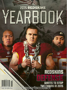 2015 WASHINGTON REDSKINS OFFICIAL YEARBOOK COUSINS JACKSON RG III BRAND NEW