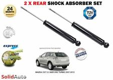 FOR MAZDA CX7 2.3 MZR DISI TURBO 2007-2013 2X REAR AXLE SHOCK ABSORBER SHOCKERS