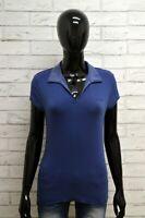 Polo LOTTO Donna Taglia Size S Maglia Maglietta Camicia Blusa Shirt Woman Blu