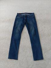J Brand Tyler Mens Jeans Size 33 L32 Blue Straight / Slim
