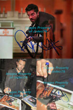 *GUNS OUT* Dominic Cooper signed Jesse Custer Preacher 8x10 Photo EXACT Proof