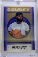 2019 19 Goodwin Champions Goudey Lenticular Lebron James #GL1, Insert