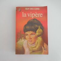 Guy des Cars La Vipère 1976 Flammarion roman policier littérature France N5610