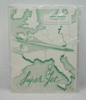 SUPER JET - CONCORDE - AIR FRANCE Lot copies doubles NEUF vintage 70's SO.CO.PI