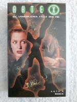 VHS-Video # PAL # Akte X # Akte 9: Redux # deutsche Fassung # 1997