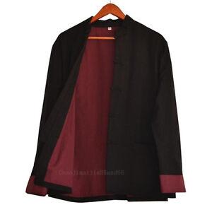 100% Cotton Martial arts Kung Fu Tai chi Wingchun Shaolin Bruce Lee Jacket Coat