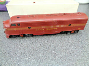 Southwind Models S Scale Great Eastern Dummy F Unit Unused ? In The Original Box