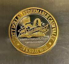 "*1994 ""50th Anniversary"" Harvey's Resort Hotel Casino $40 .999 Silver Strike"