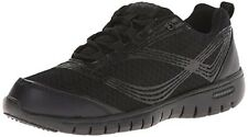 Propet Travelite athletic shoes sneakers cool mesh lightweight Black 6 Med NEW