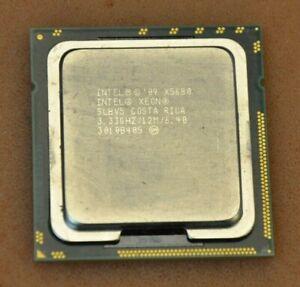 Intel X5680 3.33GHZ/12M/6.40 SLBV5  (SIX) 6 Cores / 12 Threads 130W XEON CPU